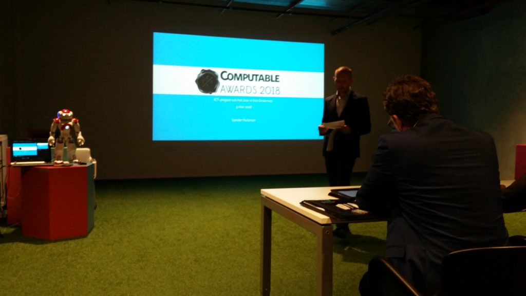 Nomination & Pitch Computable Awards 2018 @ Jaarbeurs Utrecht
