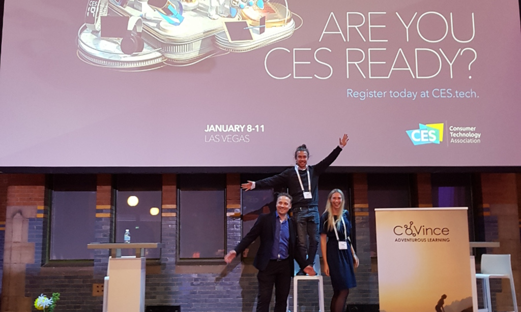 Ready, CES, Go! CoVince is part of the Dutch delegation at CES in Las Vegas