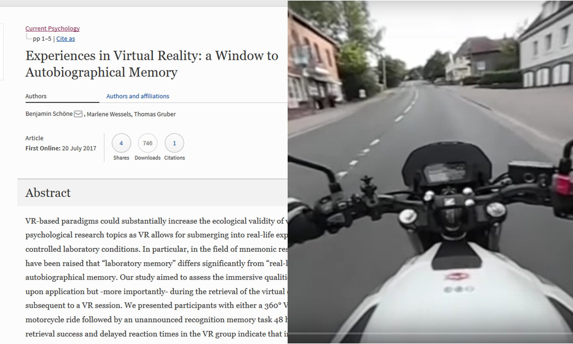 360 video, 2x more recall