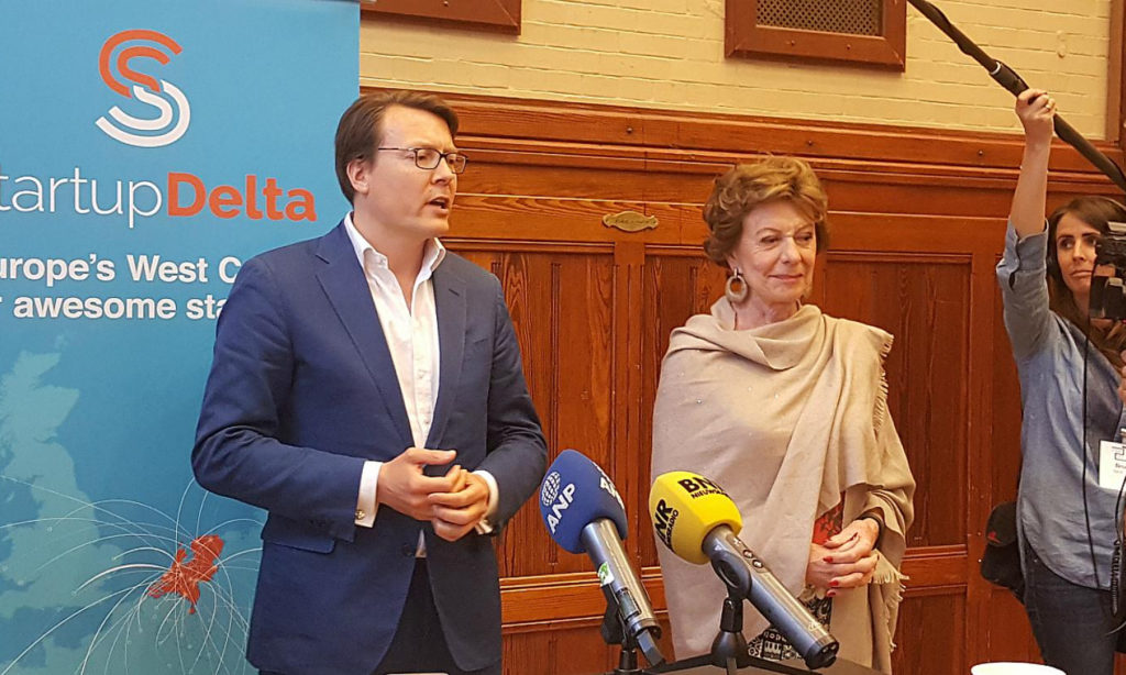 CoVince on a mission with Prince Constantijn