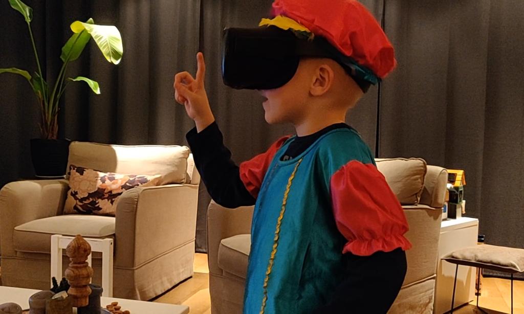 Singterklaas! De eerste virtuele Sinterklaas