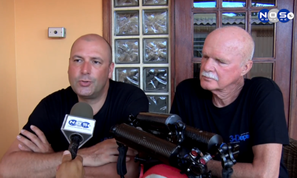 3-Depth on Bonaire TV – Interview 3D Shipwreck